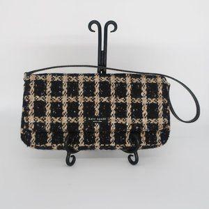 Kate Spade Collectible Envelope Tweed Shoulder Bag